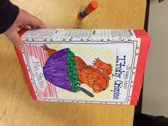 Cereal Box Book Report - Mrs. Stocklin'S 2Nd Grade Class